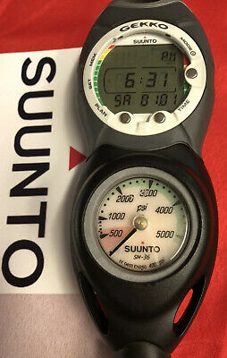 SCUBA COMPUTER SUUNTO GEKKO NITROX READY WITH CPG AWESOME !💥