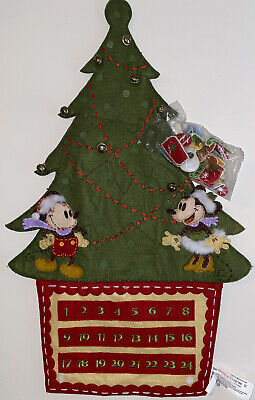 Walt Disney Exclusive Christmas Advent Calendar - Mickey and Minnie Mouse