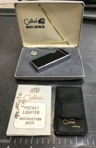 Vintage Colibri Beam Sensor Butane Lighter Collectible 1979-