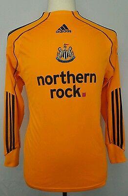 Adidas Formotion 2010 Newcastle United Football Soccer Goalkeeper Jersey Size S image