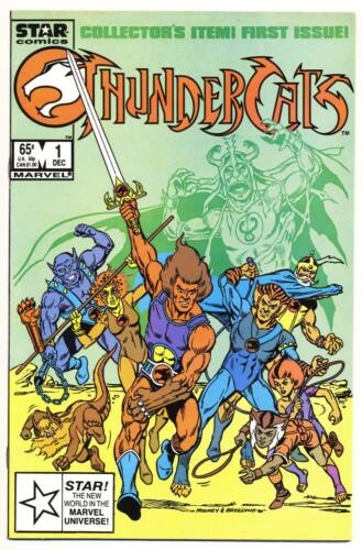 THUNDERCATS #1 VF/NM, 1st Thundercats comic, Marvel Star Comics 1985