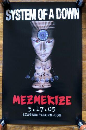 System of a Down Mezmerize RARE original promo poster 2005
