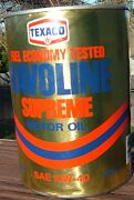 Havoline Motor Oil Can