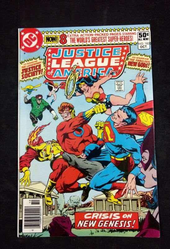 Justice League of America #184. 1980 DC Comics