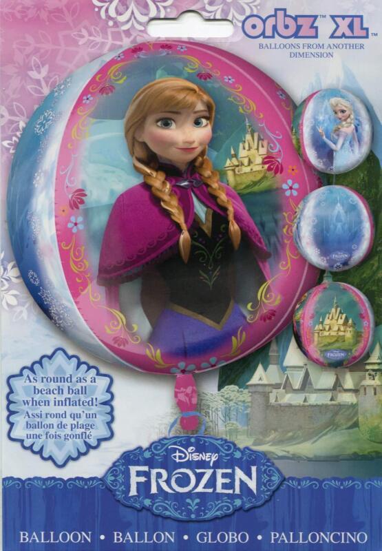 DISNEY+FROZEN+Princess+Elsa+Anna+Helium+Birthday+Party+OrbZ+XL+Foil+Balloon