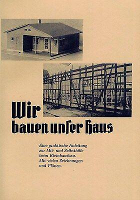 Kleinhausbau Selbstbau Fachwerkbau Anleitung mit vielen Zeichnungen und Plänen
