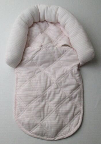 Infant Baby Newborn Girls Head Rest Pillow Pink & White