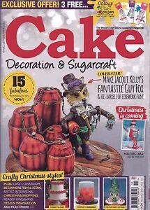Cake Decoration & Sugarcraft Magazine - Issue 216 - November 2016