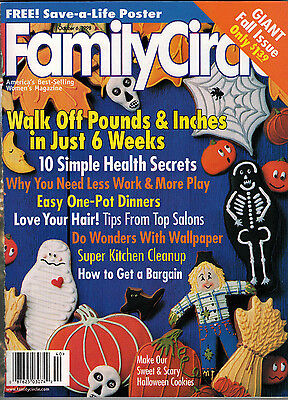 Family Circle 1998 Halloween Cookies Wallpaper Delta Burke One Pot Recipes](Family Circle Magazine Halloween Recipes)