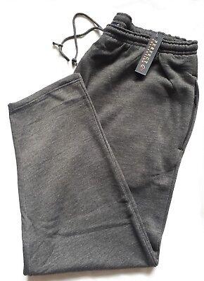 Jog Pant Charcoal (New Perfect Collection Charcoal Grey Jog Pants 2XL - 5XL  29
