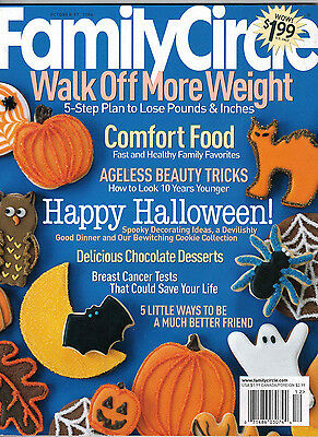 Family Circle 2006 Halloween Party Decorations and Recipes Dark Chocolate Squash](Family Circle Magazine Halloween Recipes)