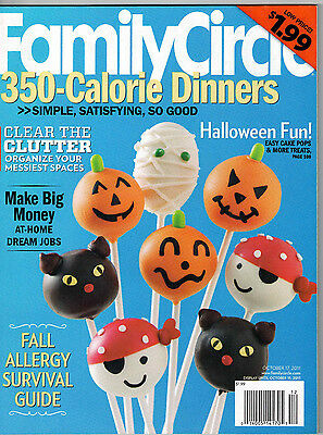 Family Circle 2011 Halloween Recipes Apples Gourd Candlesticks Molly Shannon](Family Circle Magazine Halloween Recipes)