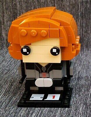 LEGO 41591 Marvel Black Widow BrickHeadz #7 - Used - Figure only