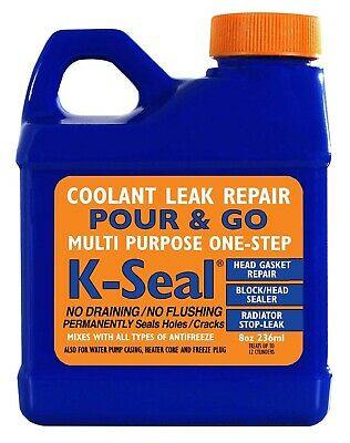 K-Seal Permanent Coolant Leak Repair for Head Gaskets / Radiators / Sealer K5501