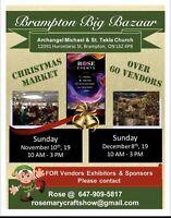 8 th annual Christmas bazaar market