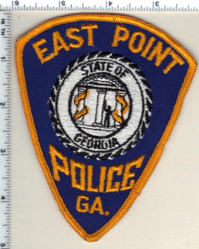 East Point Police (Georgia) Shoulder Patch - new from 1992