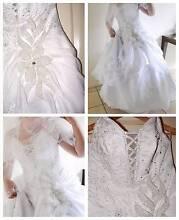 Wedding Dress White Lily European Designer Mesh Underskirt Manly Brisbane South East Preview
