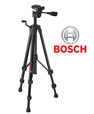 Bosch BT150 Compact Extendable Camera Tripod with Adjustable Legs and Flat Head
