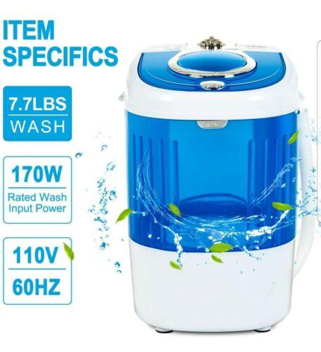 KUPPET Mini Portable Washing Machine for Compact Laundry, 7.