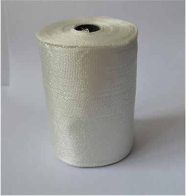 1 Roll Fiberglass Cloth Tape E-glass Wide 100mm 25m Long Fiber Plain Weave