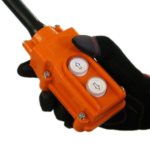 NEW Hoist Crane UP-Down Pushbutton Switch Heavy Duty Rain Proof Push Button 2