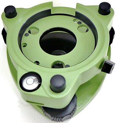 Adirpro Leica Style Green Twist Focus Tribrach Wo Optical Plummet