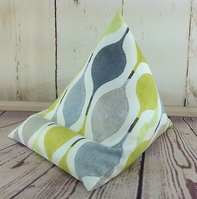 iPad tablet cushion Bean bag stand support for tablets kindle android mimosa for sale  Peterborough