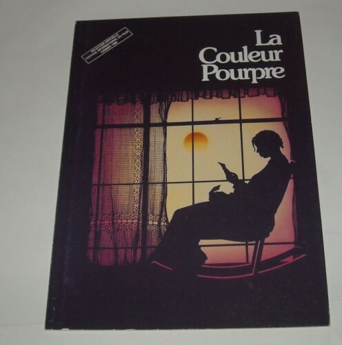 FRENCH The COLOR PURPLE MOVIE PRESSBOOK PRESS BOOK WHOOPI GOLDBERG ICONIC FILM