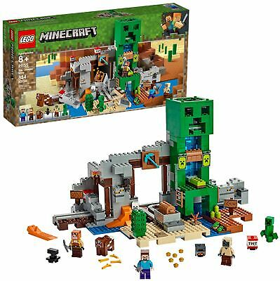 LEGO Minecraft The Creeper Mine Best Toy For Boys Girls Building Blocks Gift