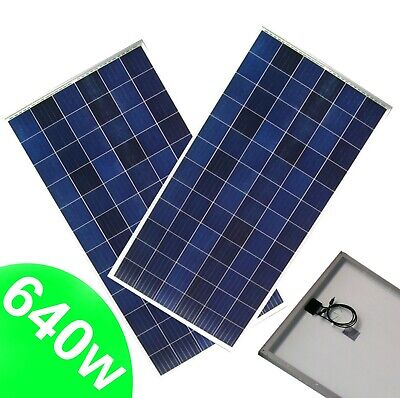 Panel 2 (2 X Solarmodul 320W Poly Solarzelle 640W Solar Photovoltaik Solarpanel 55404)