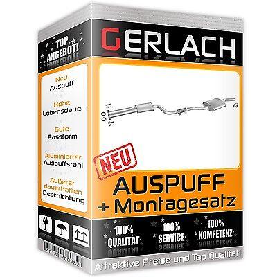 Auspuff Mercedes W123 230 E 2.3 S123 230 TE 2.3 80-85 Mittelschalldämpfer *3519 gebraucht kaufen  Hochkirch