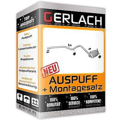 Auspuff Mercedes E220 T211 E200 W211 2.2 CDi Endschalldämpfer *2137