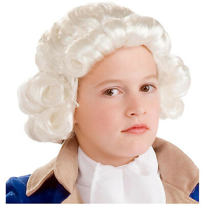 Forum Novelties Boys Colonial Kids White Child Wig | 68562 - White Wig For Kids
