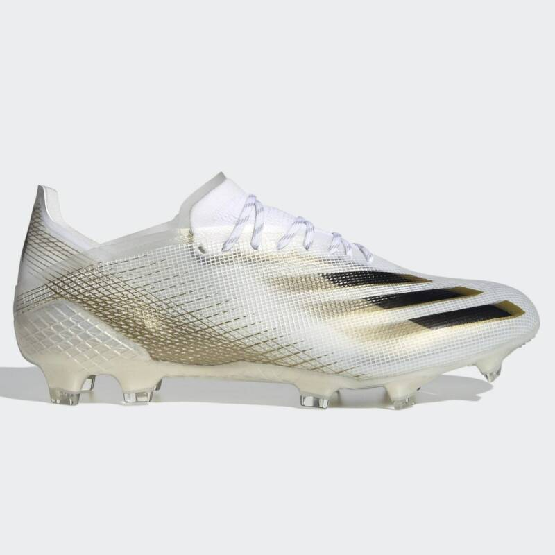 Adidas X Ghosted.1 FG - White-Black-Gold