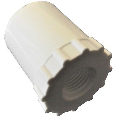 24 12 Pvc Adaptors For Automatic Waterer Drinker Cup Nipple Chicken Poultry