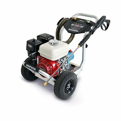 Simpson 3400 Psi 2.5 Gpm Gas Pressure Power Washer Powered By Honda Cat Pump
