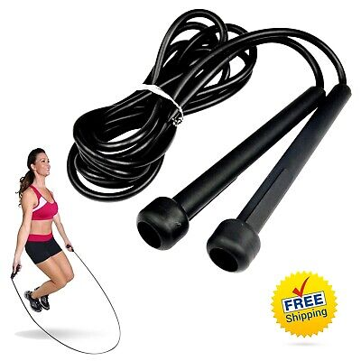 Skipping Rope-Best Speed Jump Rope For Exercise Boxing Fitness Workout Cable