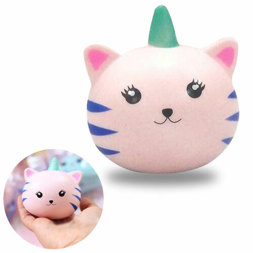 Mini Cute Cat Unicorn Squishy Slow Rising Soft Squeeze Relax Cake Bread Kid Toy