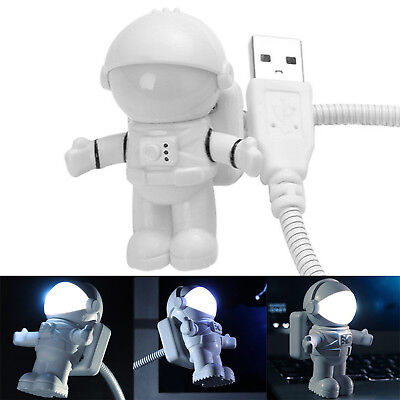 Popualr Flexible Astronaut LED USB Night Light Mini Lamp For Laptop Reading Best