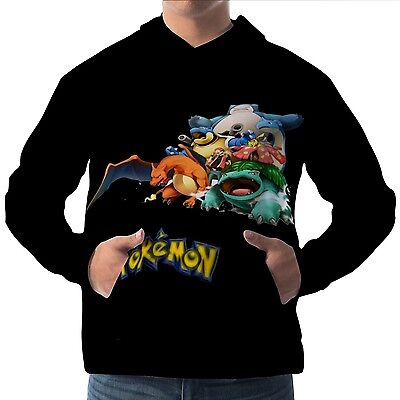 enpullover Hoodie Hoody Sweater wa15 aam30165 (Pokemon Hoody)