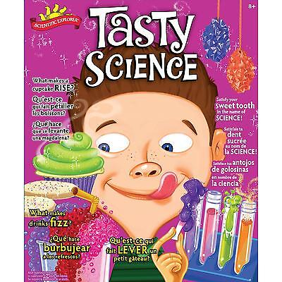 Scientific Explorer Tasty Science Kit For Ages 8  Kids With Adult Supervision
