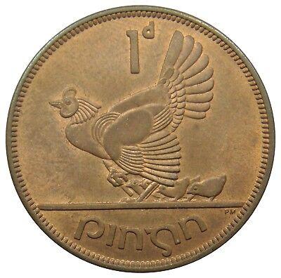 (J22) - Irland Ireland - 1 Pingin 1966 - Huhn Chicken Vogel Bird - UNC - KM# 11 gebraucht kaufen  Villingen-Schwenningen