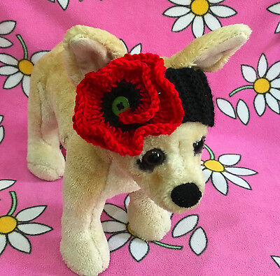 Pet Clothes for Dog & Cat Spring /Summer Outfit Handmade Knit Headband