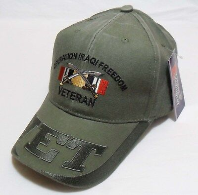 Operation Iraqi Freedom Officially Licensed  ODG Military Hat  Baseball Cap