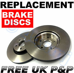 Replacement-FRONT-Brake-Discs-OPEL-VIVARO-08-01-ON-305MM-BUS-BOX-COMBI-FLATBED