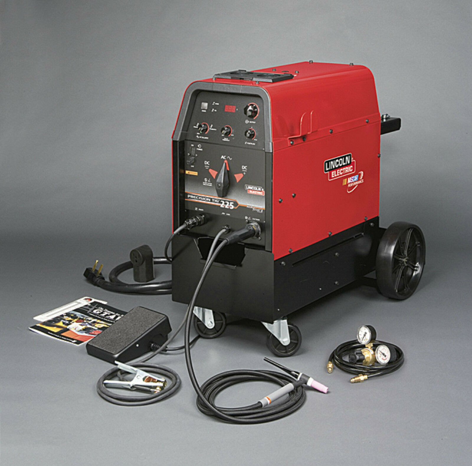 Lincoln Precision Tig 225 Ready Pak With Cart K2535-2