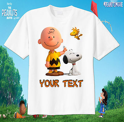 Charlie Brown and Snoopy Custom tshirt Personalize Birthday gift, - Charlie Brown Birthday
