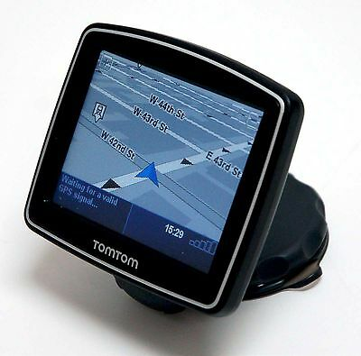 NEW TomTom ONE 130 S Car GPS Navigator Package Set 130s USA/Canada Maps BLACK