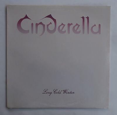 Still Sealed 1988 Cinderella Long Cold Winter Record LP Album Metal Hair Band !