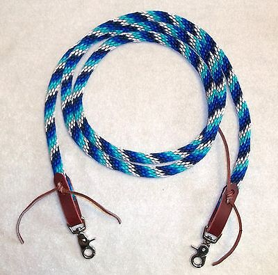 Reins Loop Rope Rein Pony Roping Barrel Race Contest trail riding multi -